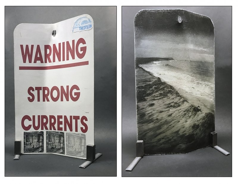 Warning Strong Currents