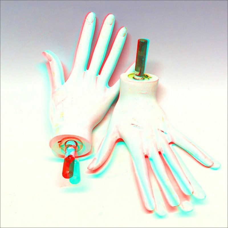 The Mannequin Project: color anaglyph