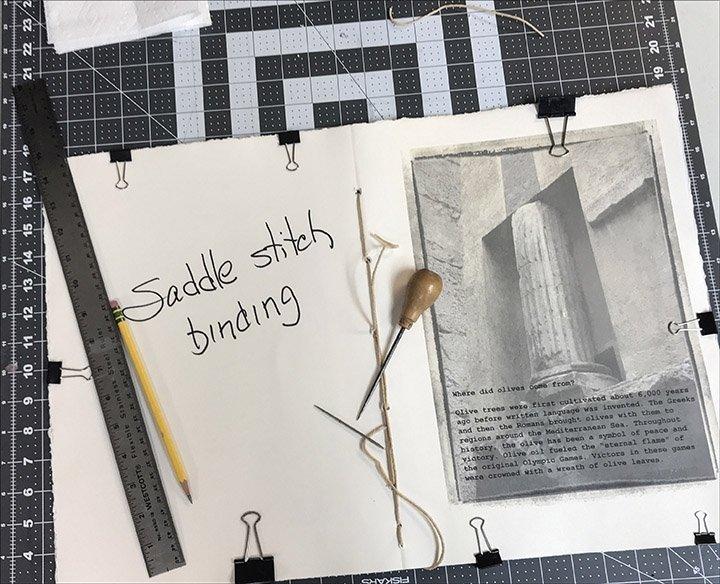 04 Saddle binding
