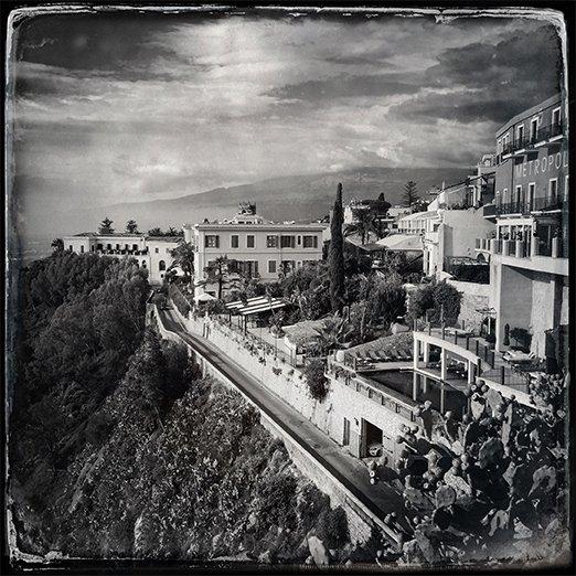 Vista di Taormina