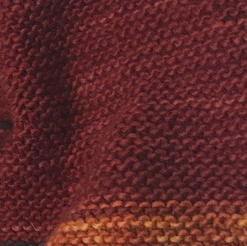 04 Garter stitch