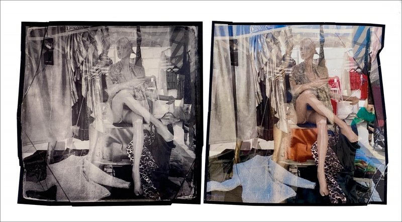 Diptych_Canon Selphy emulsion lifts