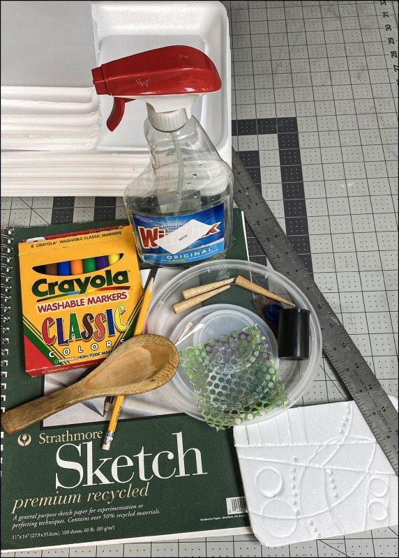 Assorted materials