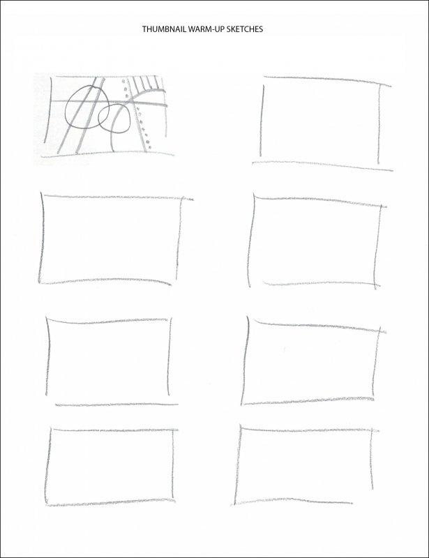 Thumbnail warm-ups