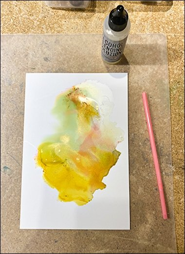 12 Alcohol inks