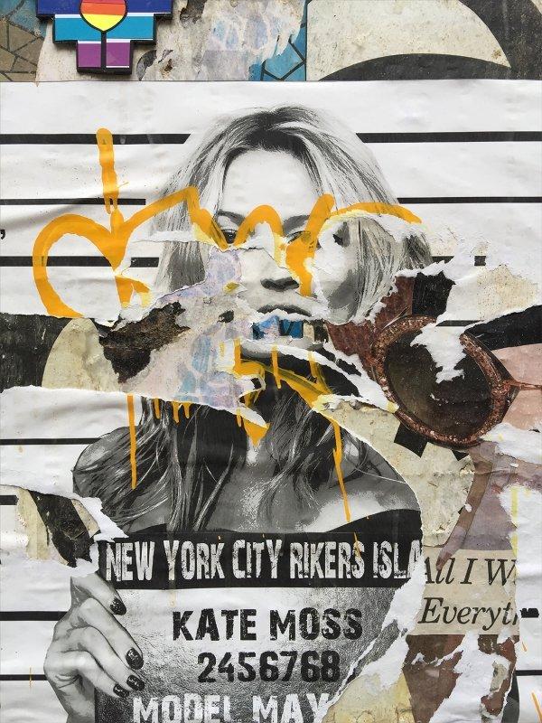 Street Art NYC #2, Kate