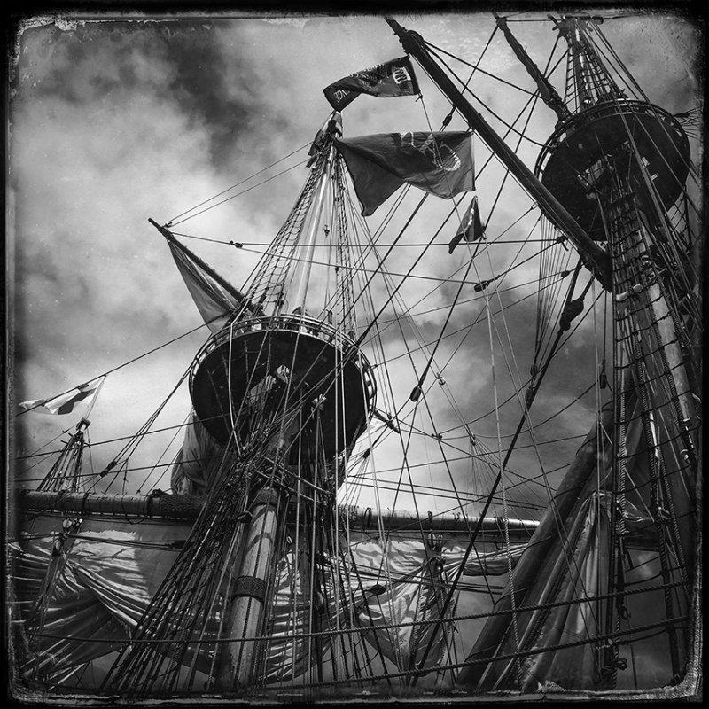 Rigging of the Kalmar Nyckel