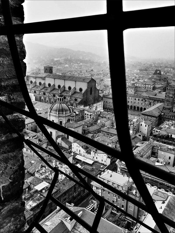 La Vista da Torre degli Asinelli
