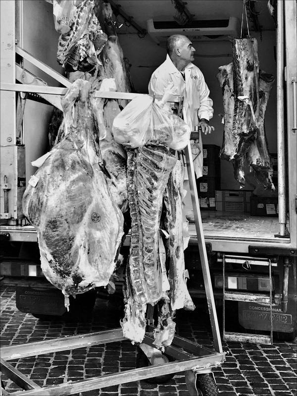 Consegna di carne