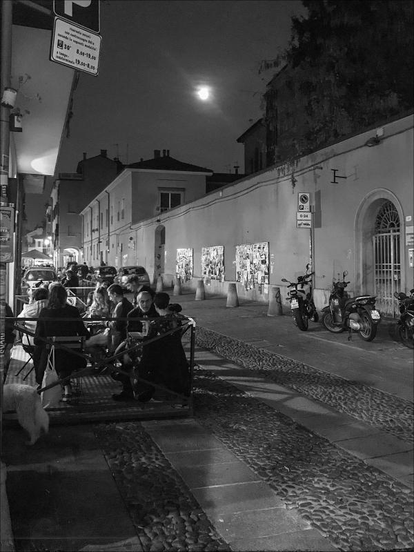 Vita notturna, Via del Pratello