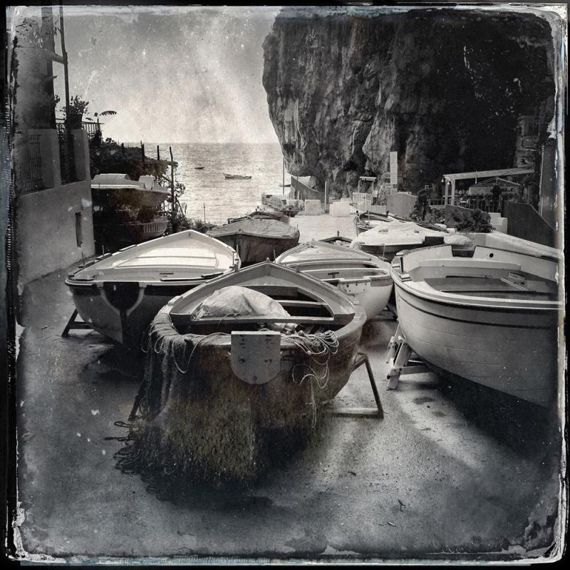 Le barce, Marina di Praia