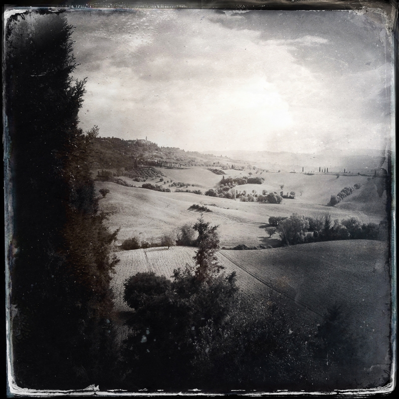 La vista dalla mia camera, Agritourisimo Cretaiole