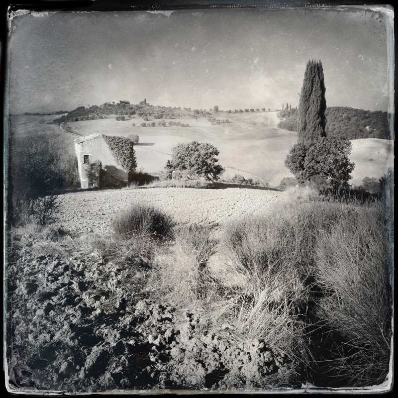 In campagna, Val d' Orcia