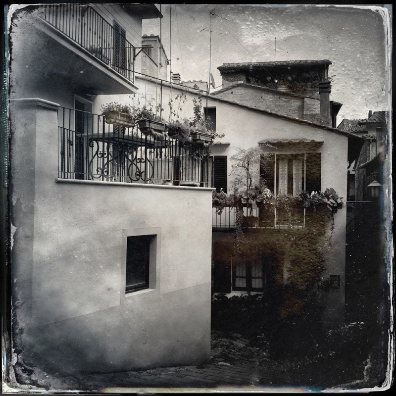 Case bianche, Montepulciano