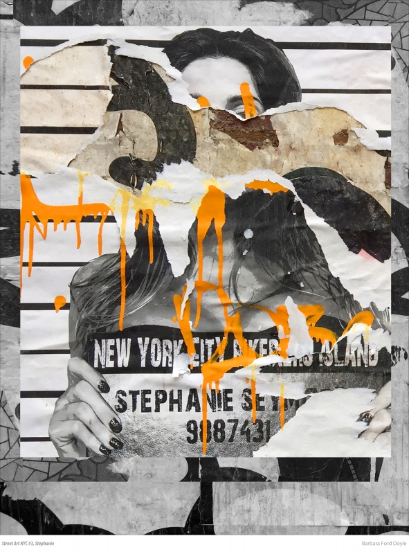 Street Art NYC #3, Stephanie